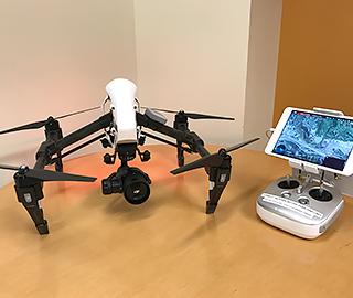 Photo of DJI drone