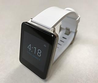 Photo of LG smart watch